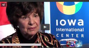 Judy on WOI TV copy