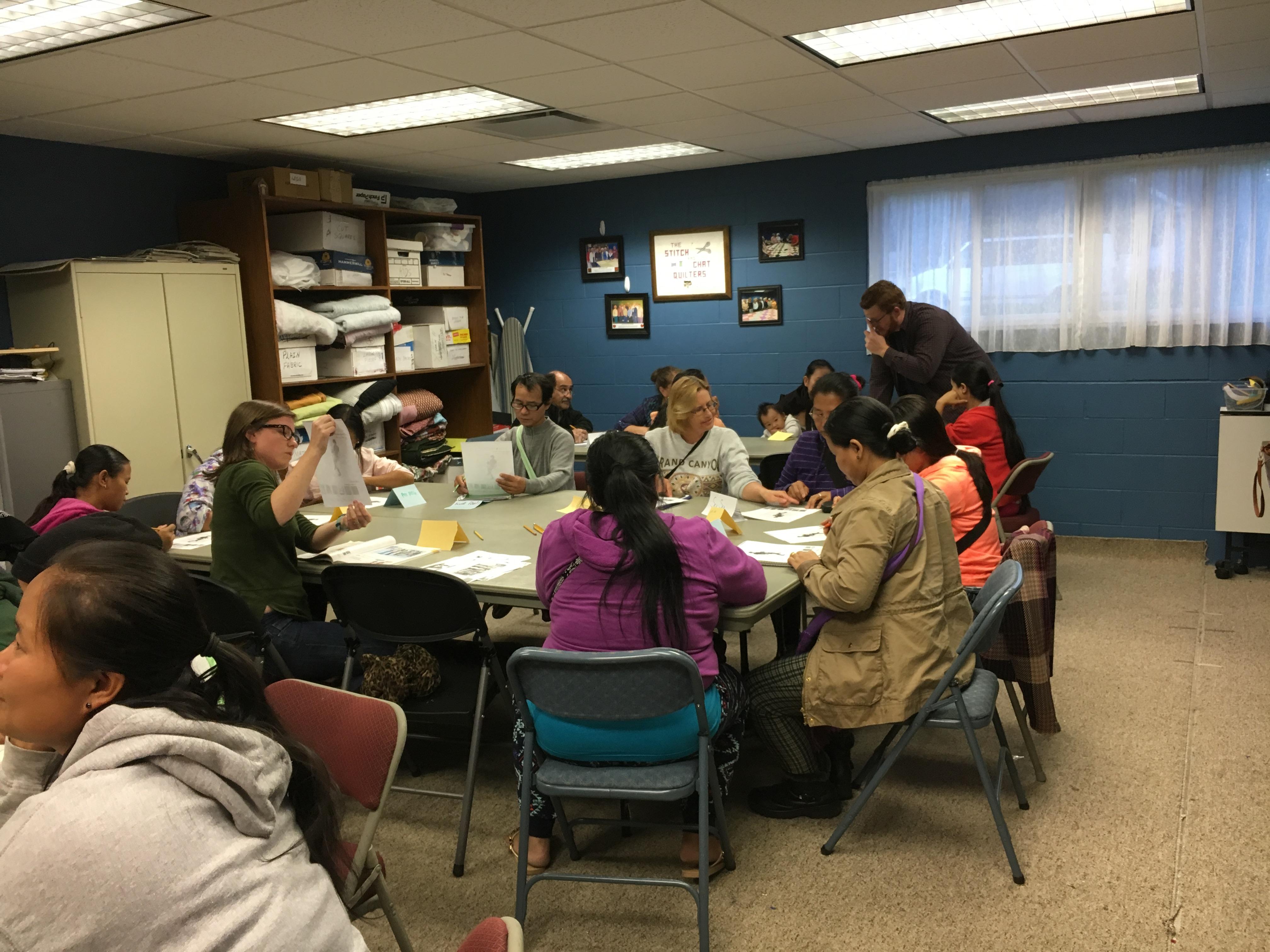 students-at-table-deer-ridge